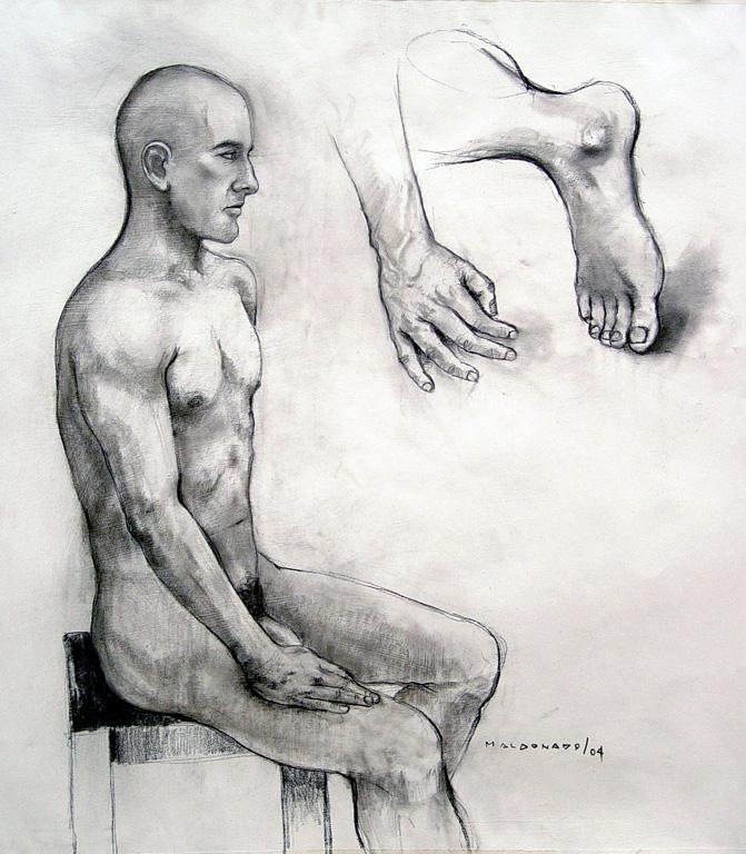 PERFIL DE HOMBRE DESNUDO